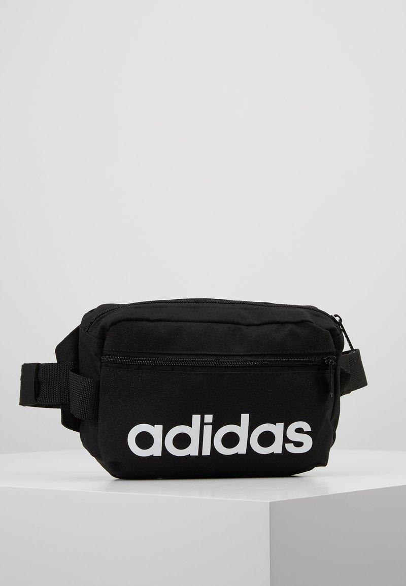 adidas Performance - ESSENTIALS LINEAR SPORT WAISTBAG - Bum bag - black/white