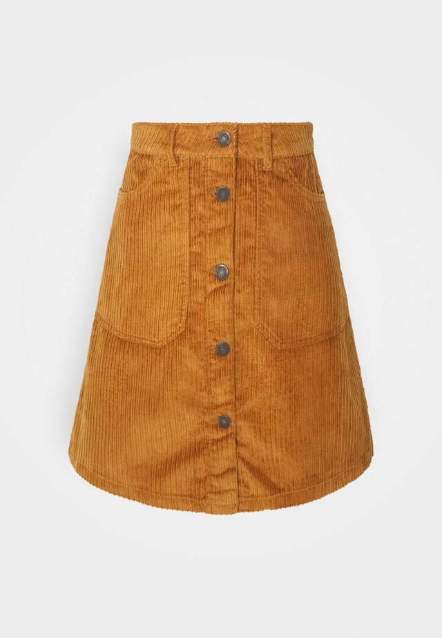 NMSUNNY SHORT SKIRT - A-line skirt - brown sugar