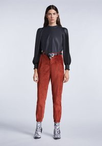 SET - Trousers - maroon - 1