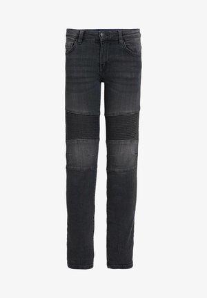 MET BIKERDETAILS - Jeans Skinny Fit - dark grey