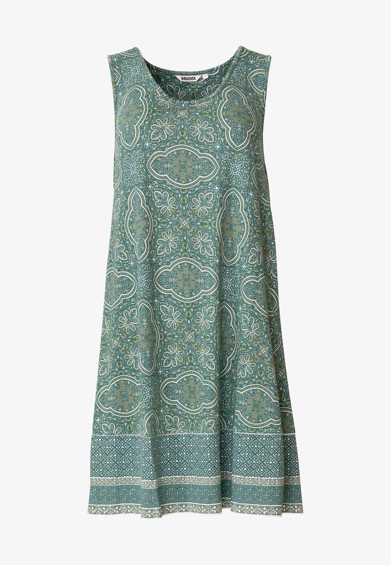Indiska - Jersey dress - green