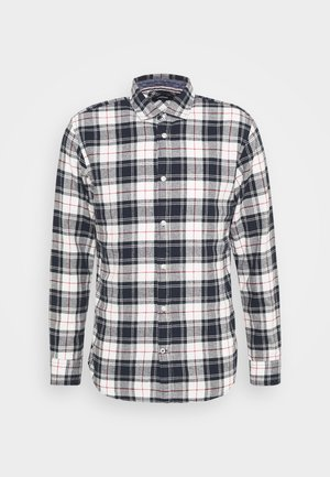 JJEWILL CHECK SHIRT  - Shirt - cloud dancer