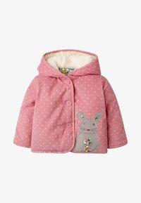 Boden - MIT APPLIKATION - Winter jacket - kirschblütenrosa, pünktchen - 0