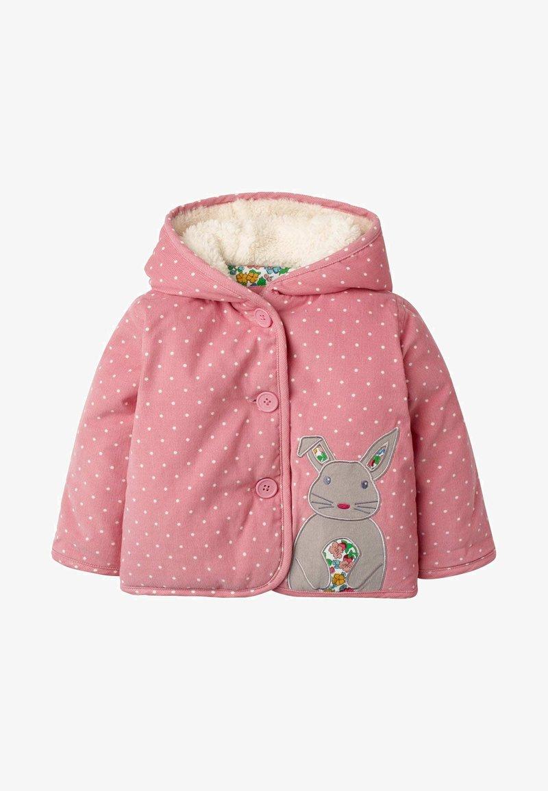 Boden - MIT APPLIKATION - Winter jacket - kirschblütenrosa, pünktchen