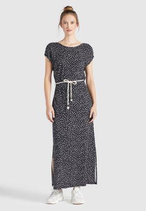 DOREEN - Maxi dress - schwarz-weiß gemustert