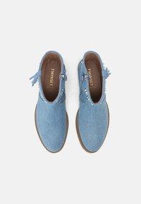 TWINSET - Cowboy/biker ankle boot - blue - 3