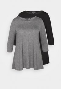 CAPSULE by Simply Be - SWING TUNICS 2 PACK - Blouse - mono - 0