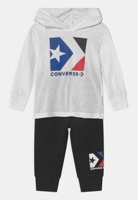 Converse - HOODED STAR CHEVRON SET UNISEX - Trainingspak - black - 0