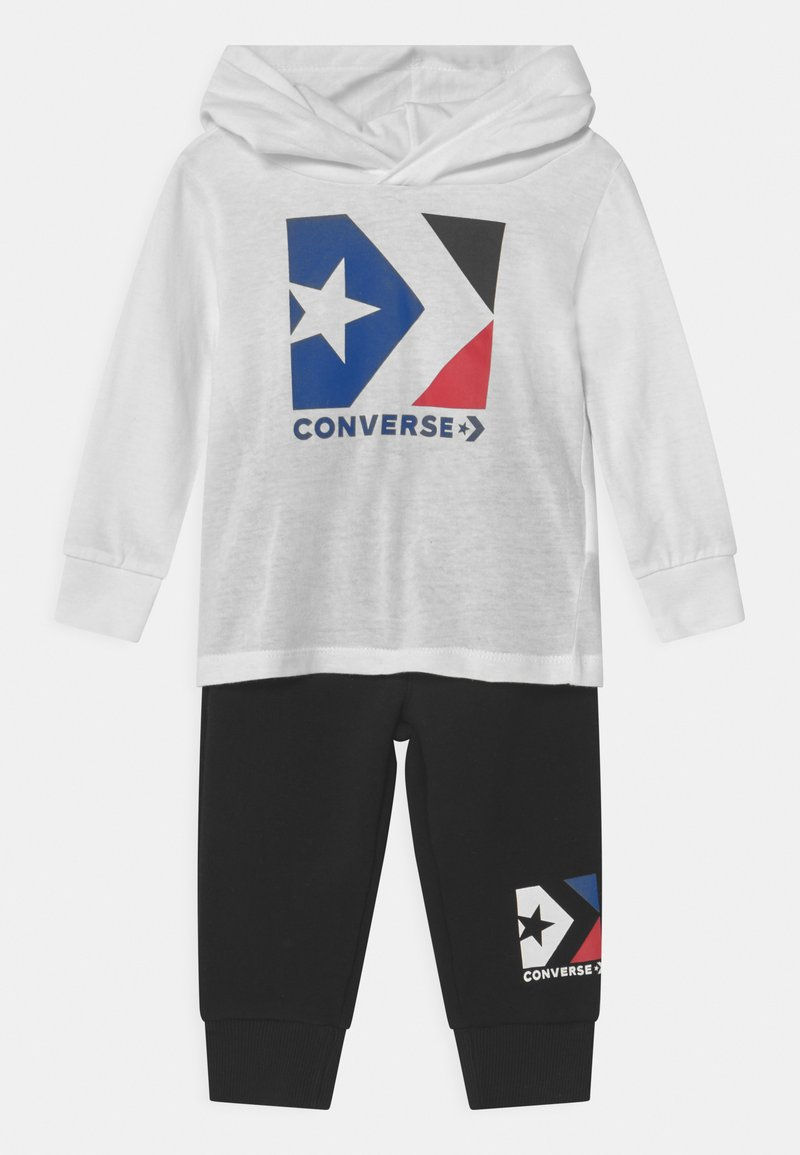 Converse - HOODED STAR CHEVRON SET UNISEX - Trainingspak - black
