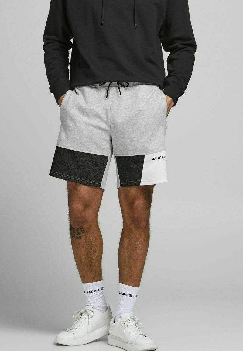 Jack & Jones - Shorts - light grey melange