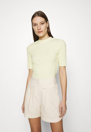 SLFANNA TEE - Basic T-shirt - young wheat