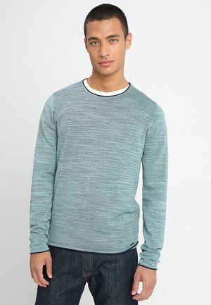 Strickpullover - turquoise