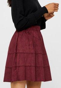 Noisy May - NMLAUREN  - A-line skirt - red - 3
