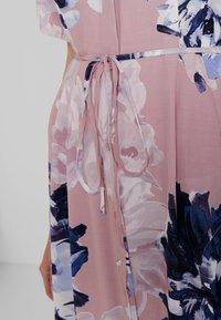 French Connection - CORSETTA DRAPE DRESS - Maxi dress - cinder pink/multi - 6