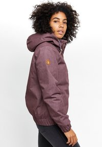 Mazine - LIBRARY - Winter jacket - berry melange - 2