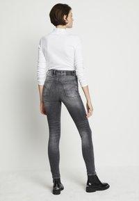 G-Star - KAFEY STUDS ULTRA HIGH SKINNY  - Jeans Skinny Fit - vintage basalt - 3