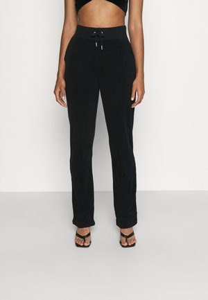 DEL RAY  - Tracksuit bottoms - black