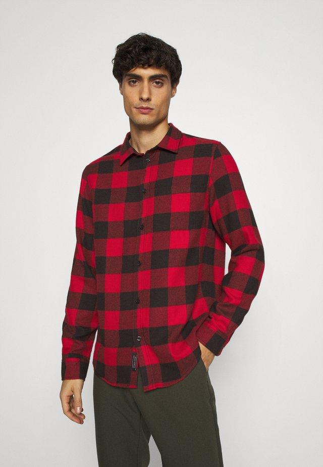 Shirt - red/black