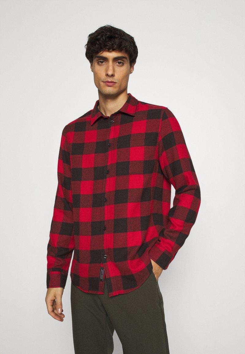 Pier One - Shirt - red/black