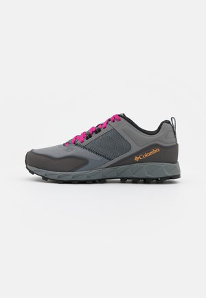 FLOW DISTRICT - Hiking shoes - grey steel