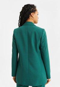 WE Fashion - Halflange jas - green - 2
