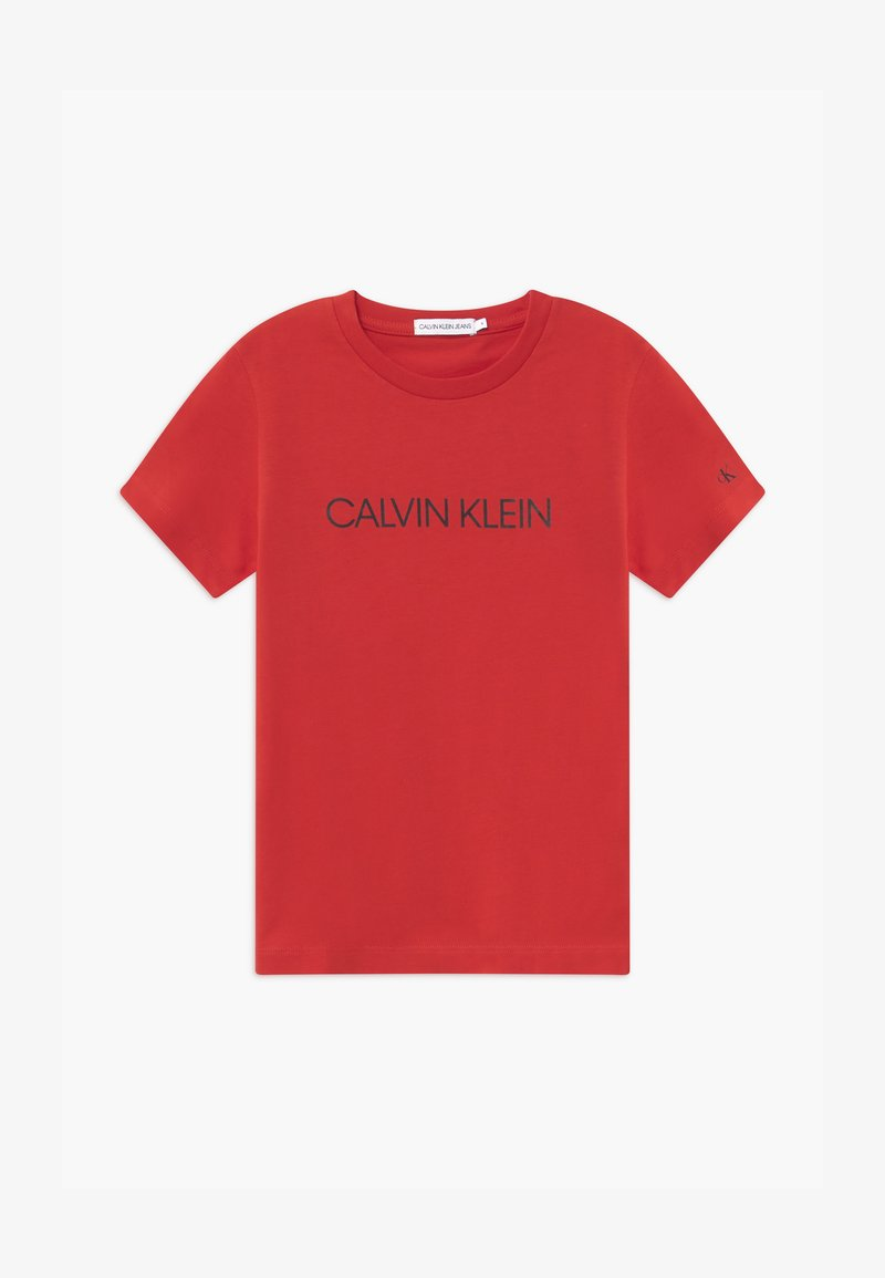 Calvin Klein Jeans - INSTITUTIONAL - T-shirt print - red