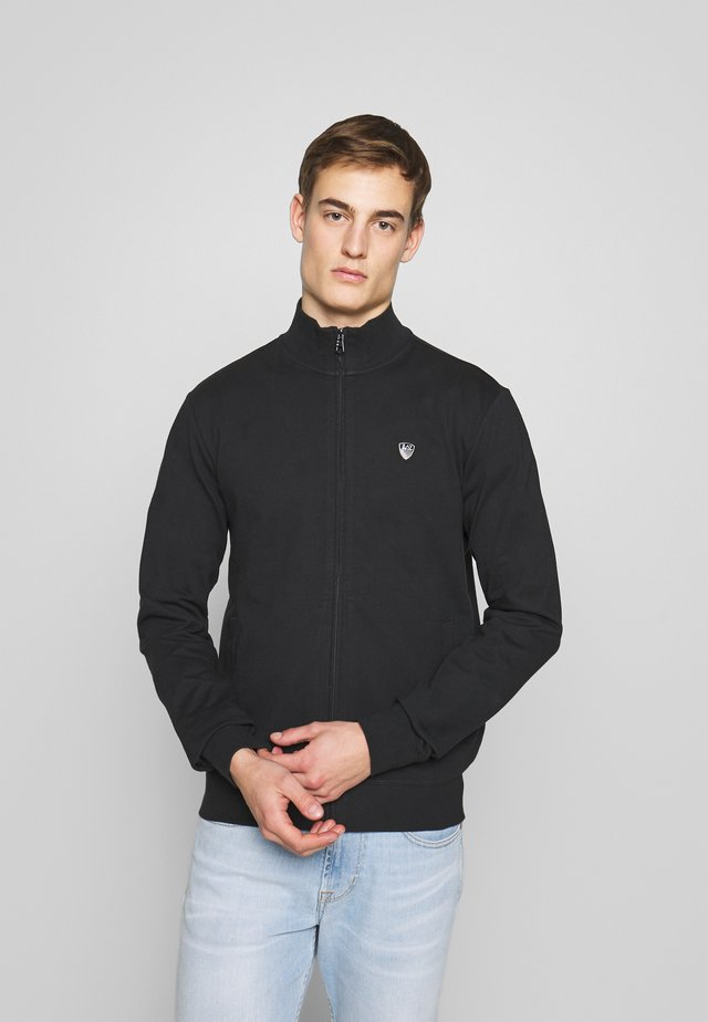 FELPA - veste en sweat zippée - black