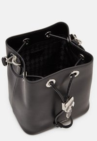 KARL LAGERFELD - IKONIK BUCKET BAG - Sac à main - black - 3