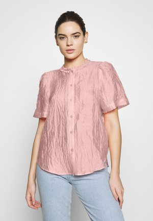 LIN - Button-down blouse - candy coral