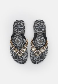 KHARISMA - T-bar sandals - nero/multicolor - 0