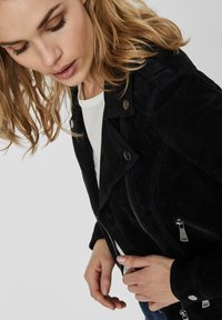 Vero Moda - Leather jacket - black - 4