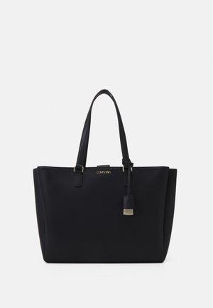 SHOPPER LAPTOP SET - Shoppingväska - black