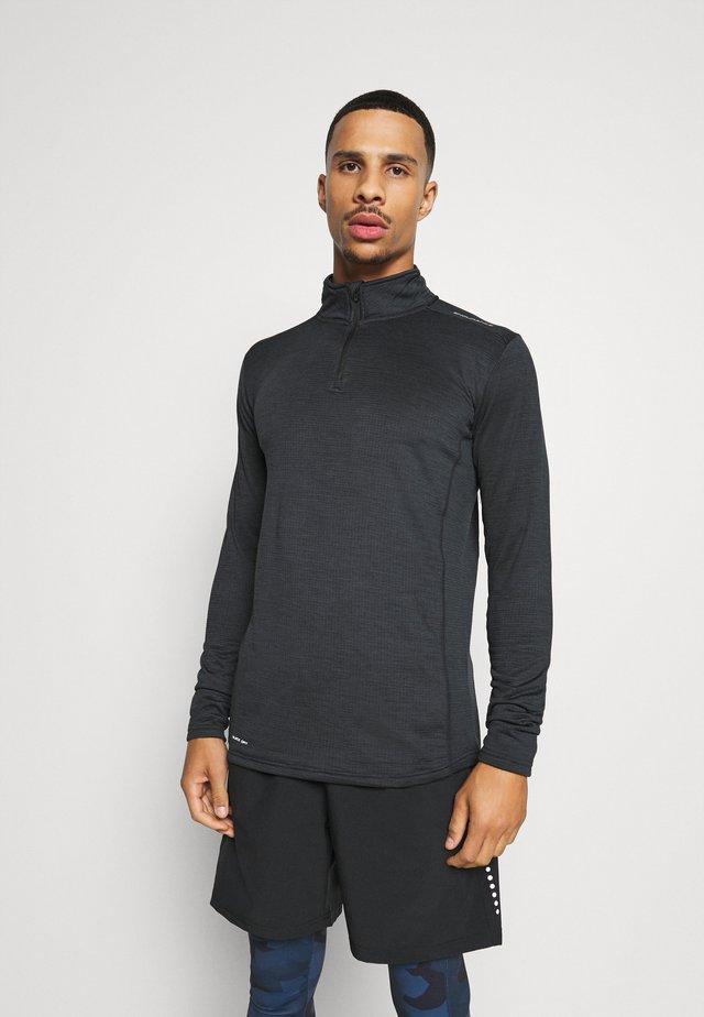 BERNEO MIDLAY - Long sleeved top - black