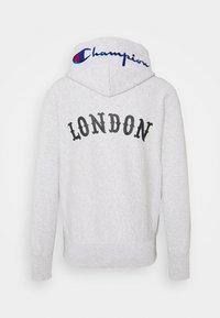 Champion Reverse Weave - HOODED LONDON - Sweatshirt - mottled light grey - 1