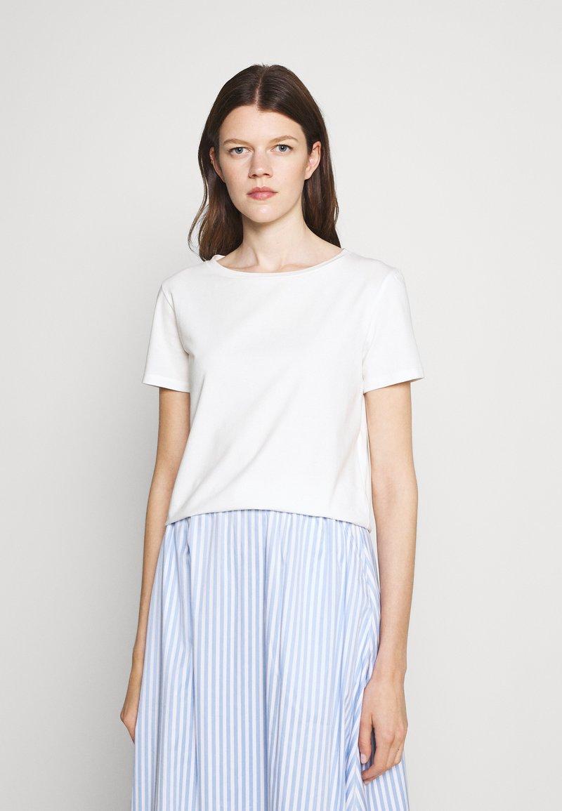 WEEKEND MaxMara - MULTIB - Jednoduché triko - white