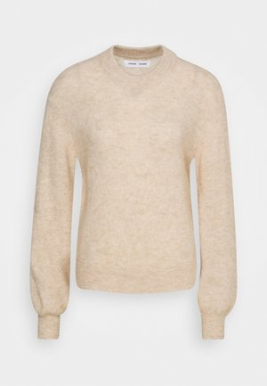 JACI CREW NECK - Jumper - winter wheat