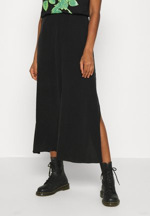 YAN SKIRT - Maxi skirt - black
