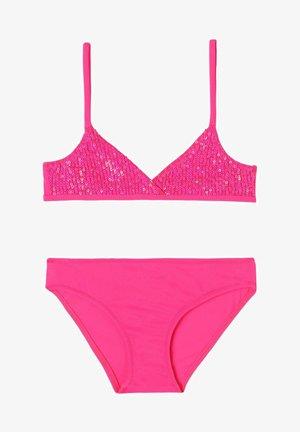 Bikini - paillettes fucsia trendy