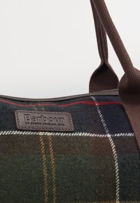 Barbour - ELGIN HOLDALL - Tote bag - multi-coloured/green - 4