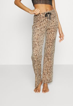 CECLIA TROUSERS - Pyjama bottoms - brown
