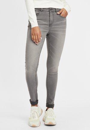Lenna - Jeans baggy - grey denim
