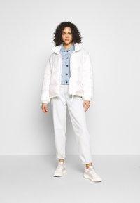 Noisy May - NMDEBRA JACKET - Denim jacket - light blue denim - 1