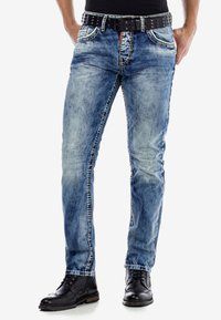 Cipo & Baxx - Slim fit jeans - ijsblauw - 0