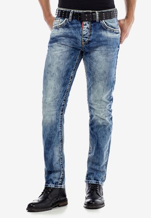 Slim fit jeans - ijsblauw