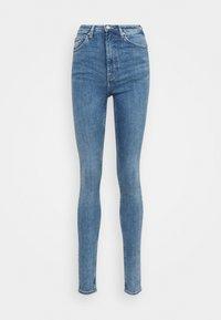 Weekday - BODY HIGH - Jeans Skinny Fit - bleecker blue - 4