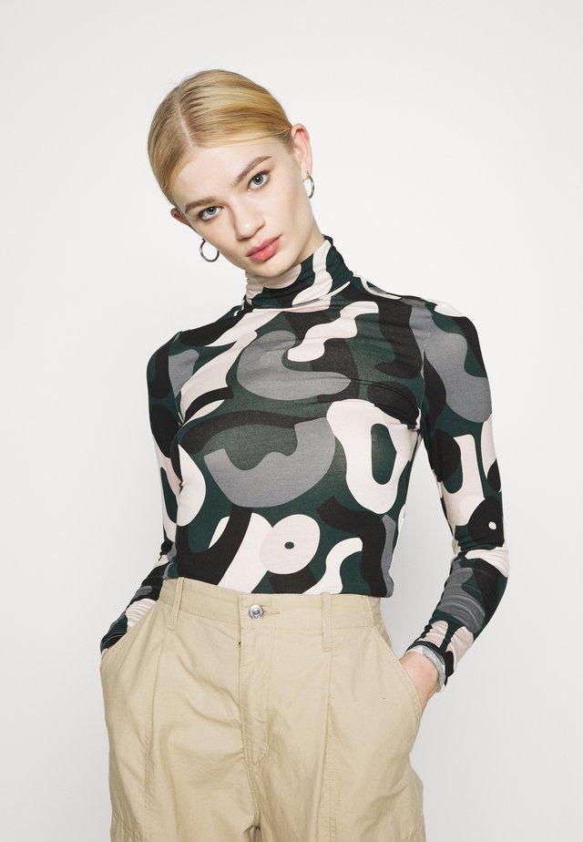 ELIN - Long sleeved top - green
