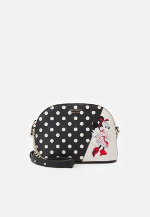 MINNIE MOUSE SMALL DOME XBODY - Skuldertasker - black/multi
