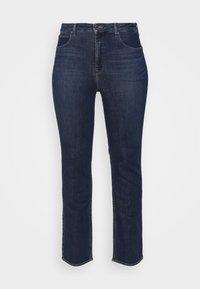 Lee Plus - CLASSIC - Straight leg -farkut - dark-blue denim - 4