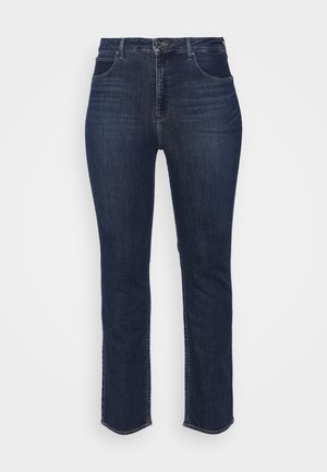 CLASSIC - Straight leg -farkut - dark-blue denim