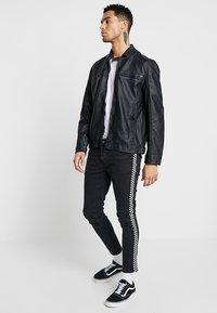 Brave Soul - JONES - Faux leather jacket - black - 1
